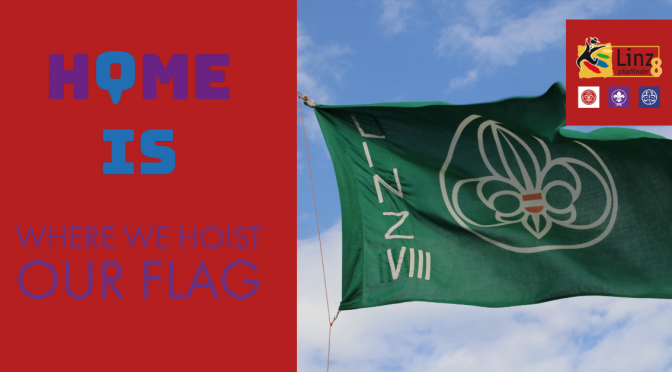 HOME is where we hoist our flag