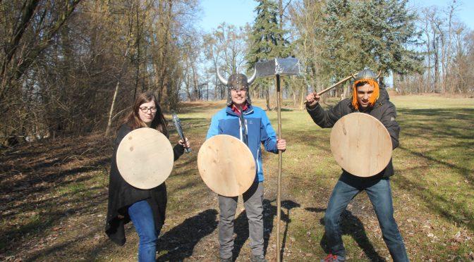 Die Wikinger aus dem Dorf Hajala